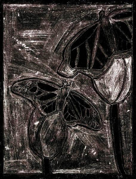 Digital Art - Butterfly Garden At Night 20 by Artist Dot