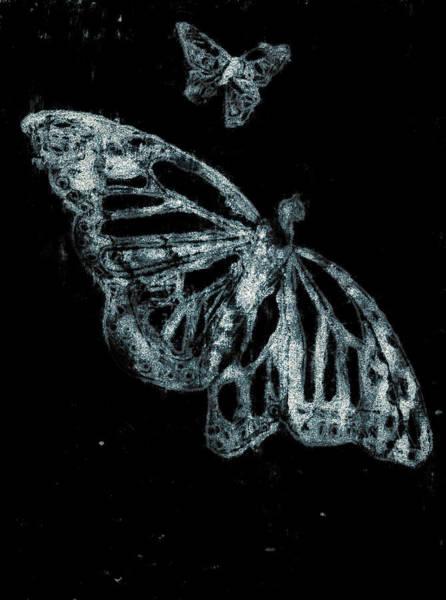 Digital Art - Butterfly Garden At Night 38 by Artist Dot