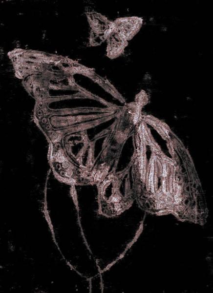 Digital Art - Butterfly Garden At Night 39 by Artist Dot
