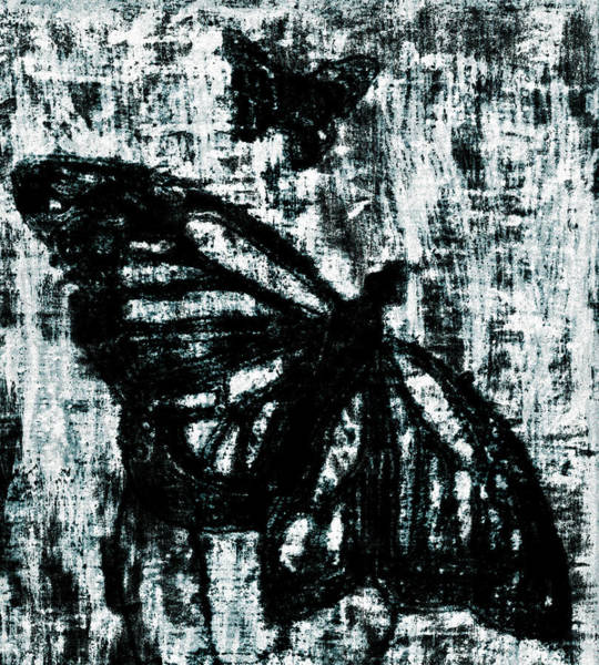 Digital Art - Butterfly Garden At Night 42 by Artist Dot