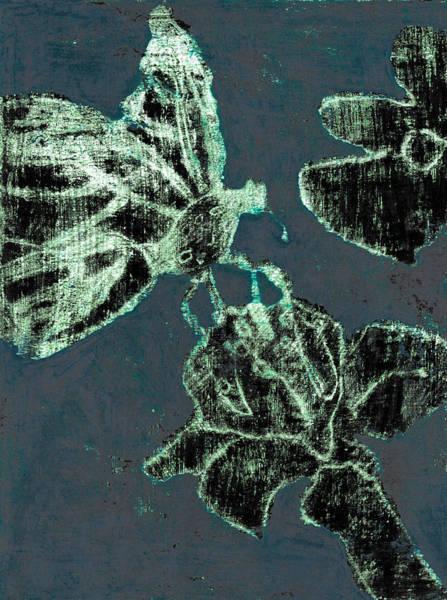 Digital Art - Butterfly Garden At Night 44 by Artist Dot