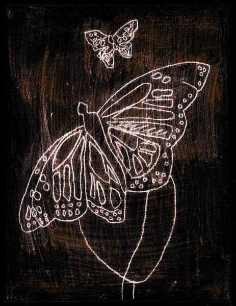 Digital Art - Butterfly Garden At Night 7 by Artist Dot