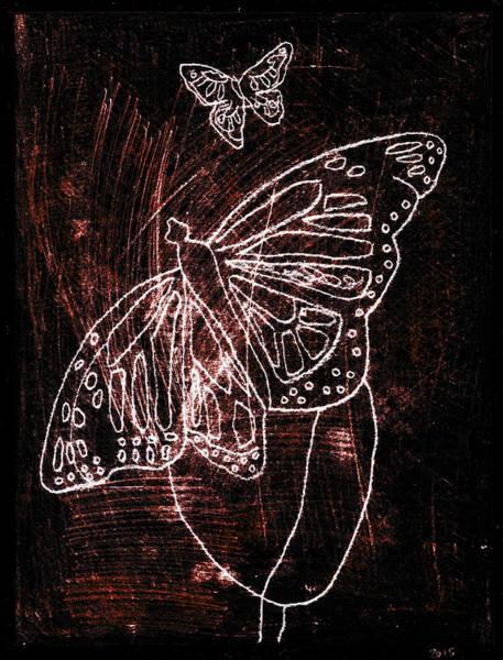 Digital Art - Butterfly Garden At Night 9 by Artist Dot