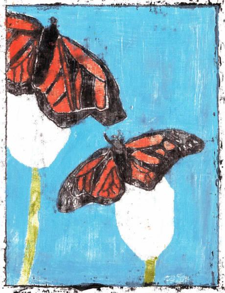 Painting - Butterfly Garden Summer 21 by Artist Dot