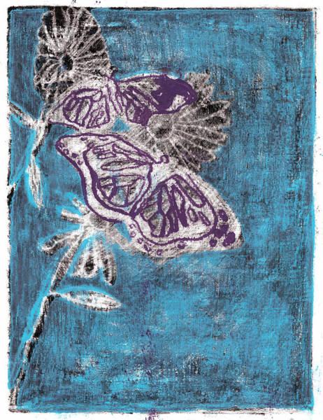 Painting - Butterfly Garden Summer 7 by Artist Dot