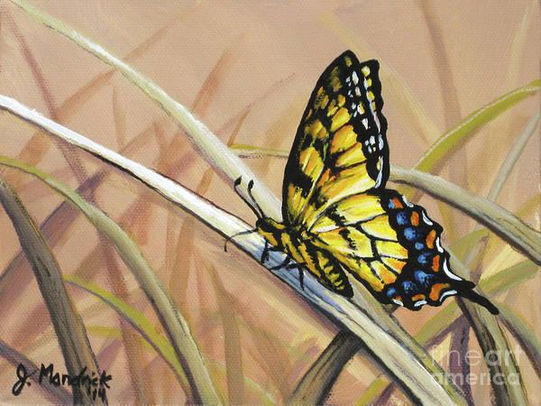 Butterfly Meadow - Part 2 Art Print