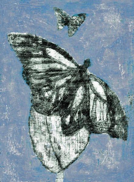 Digital Art - Butterfly Overcast Weather 1 by Artist Dot