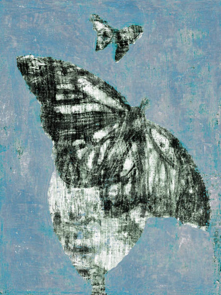 Digital Art - Butterfly Overcast Weather 2 by Artist Dot