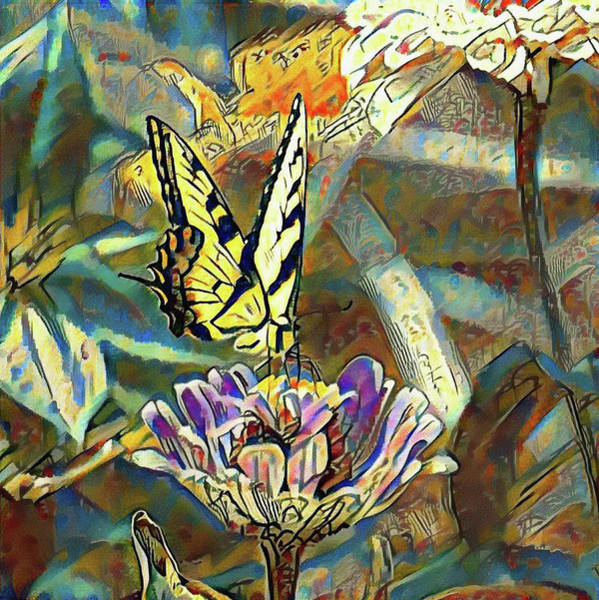 Photograph - Butterfly Rendoring by Bill Cannon
