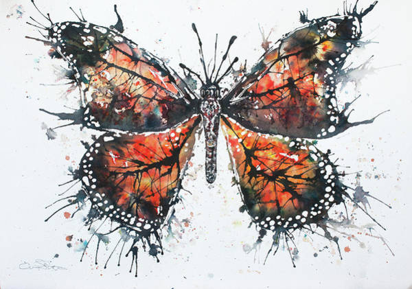 Painting - Butterfly Study I by John Silver