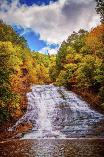 Photograph - Buttermilk Falls In Autumn by Lynn Bauer