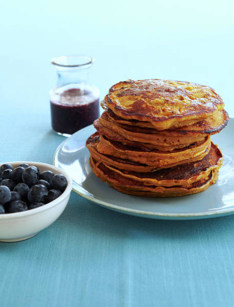 Healthy Lifestyle Photograph - Butternut Squash Pancakes by Iain Bagwell