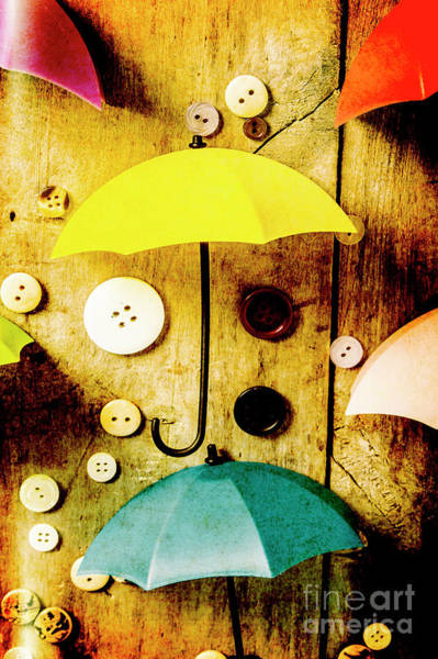 Parasol Wall Art - Photograph - Button Storm by Jorgo Photography - Wall Art Gallery