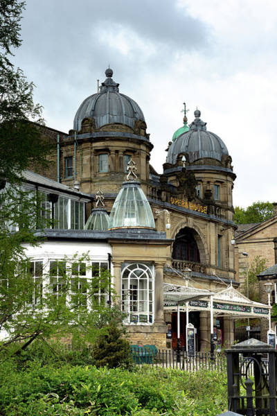 Photograph - Buxton Opera House Through The Gardens by Scott Lyons