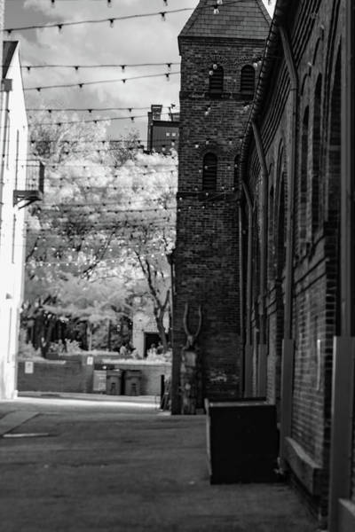 Photograph - Bw Alley by Dan Urban