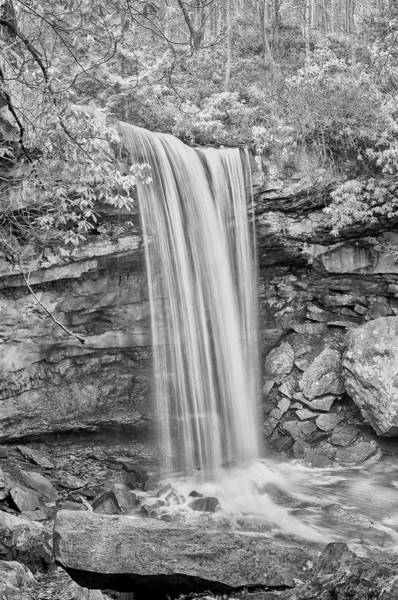 Photograph - Bw Cucumber Falls by Dan Urban