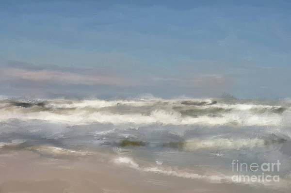 Digital Art - By The Sea, By The Sea by Lois Bryan