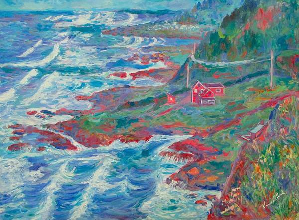 Painting - By The Sea by Kendall Kessler