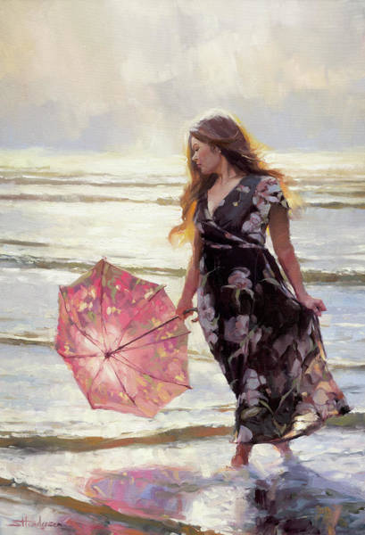 Painting - By The Silver Sea by Steve Henderson