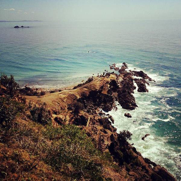 Headlands Photograph - Byron Bay by Jodie Griggs