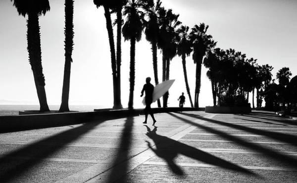 Photograph - C Street Shadowland by Sean Davey