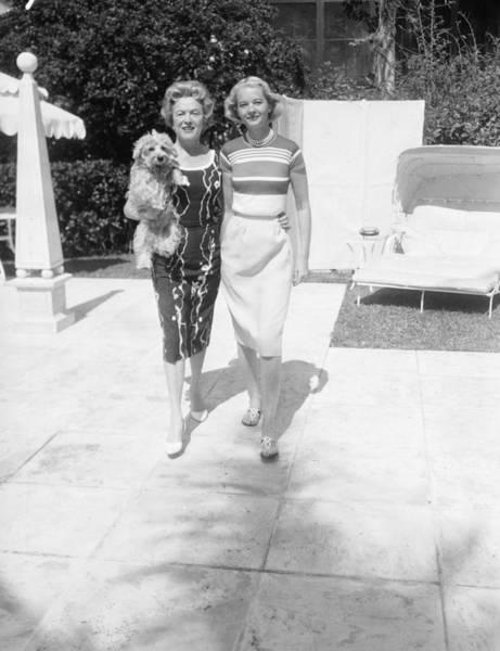 Guest Photograph - C. Z. Guest & Mrs. Stephen Sanford by Bert Morgan