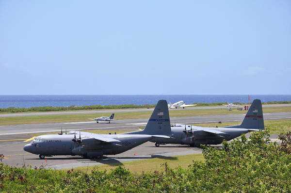 Photograph - C130h At Rest by Climate Change VI - Sales