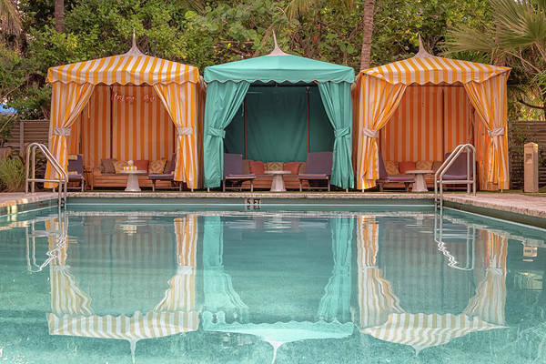 Photograph - Cabanas by Alison Frank