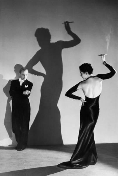 Evening Wear Photograph - Cabaret Dancers by Gordon Anthony