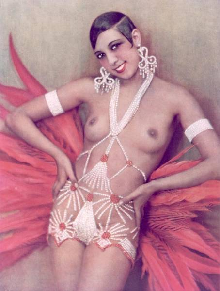 Josephine Baker Photograph - Cabaret Exposed by Hulton Archive