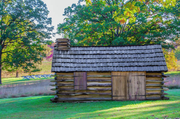 Wall Art - Photograph - Cabin At Valley Forge Pennsylvania by Bill Cannon