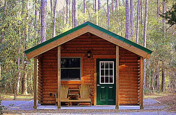Photograph - Cabin Camping by Cynthia Guinn