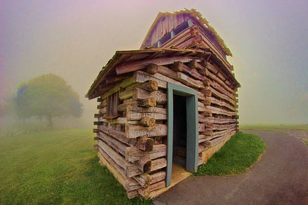Wall Art - Photograph - Cabin In The Clouds by Dan Carmichael