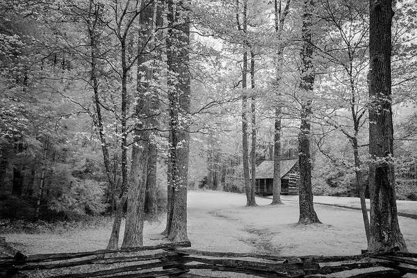 Wall Art - Photograph - Cabin In The Smoky's IIi by Jon Glaser