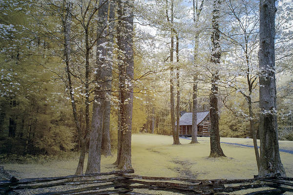 Wall Art - Photograph - Cabin In The Smoky's by Jon Glaser