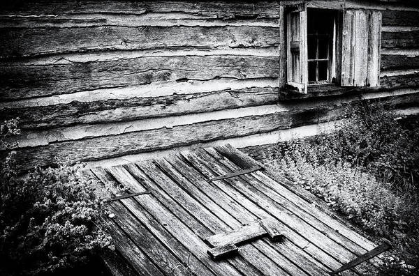 Wall Art - Photograph - Cabin Shutters by Paul W Faust -  Impressions of Light