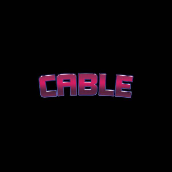 Cable Digital Art - Cable by TintoDesigns