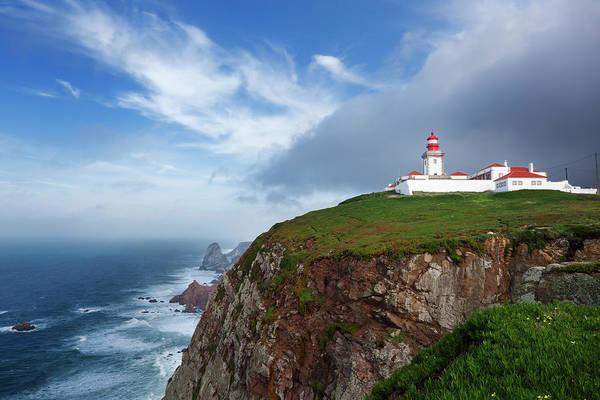 Roca Wall Art - Photograph - Cabo Da Roca Lighthouse by Fernandoah