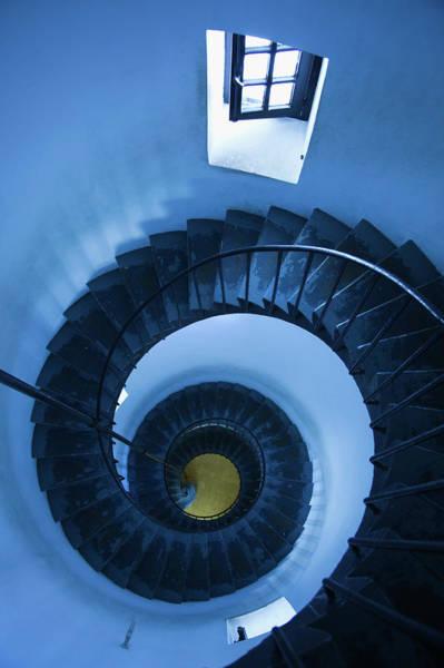 Home Interior Photograph - Cabo Santa Maria Lighthouse by Walter Bibikow