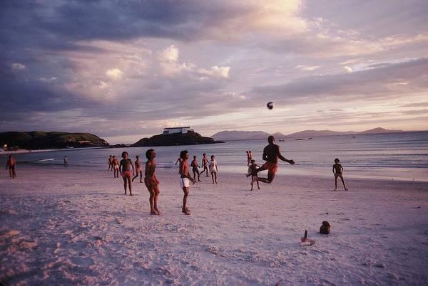 Adolescence Photograph - Cabofrio Beach In State Rio De Janeiro by Gerard Sioen