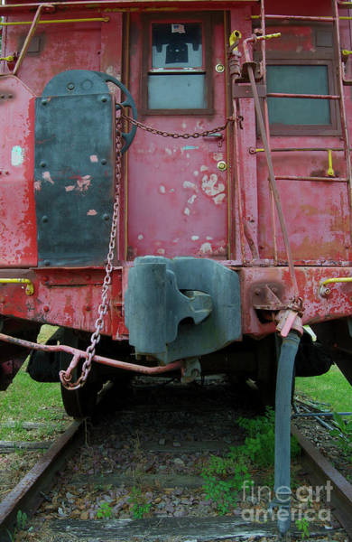 Rr Photograph - Caboose, The End by Skip Willits