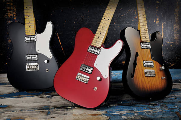 Side-by-side Photograph - Cabronita Telecaster Electric Guitars by Total Guitar Magazine