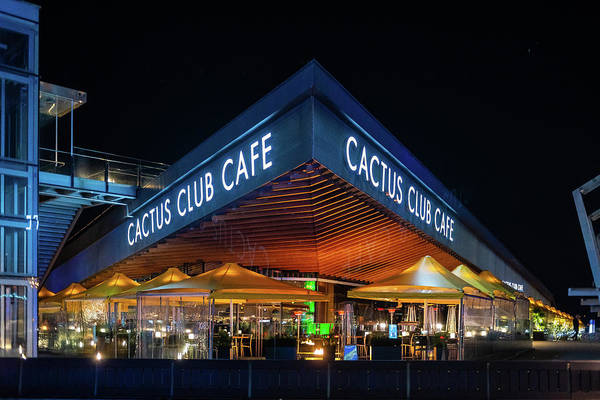 Photograph - Cactus Club Cafe by Ross G Strachan