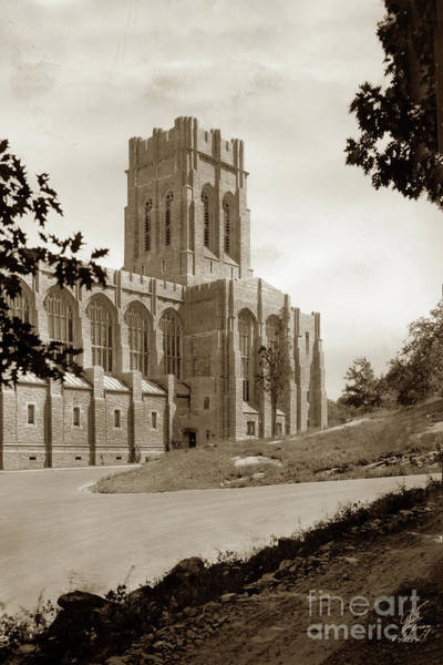 Photograph - Cadet Chapel, West Point, Military Academy Campus, New York, Usa  by California Views Archives Mr Pat Hathaway Archives
