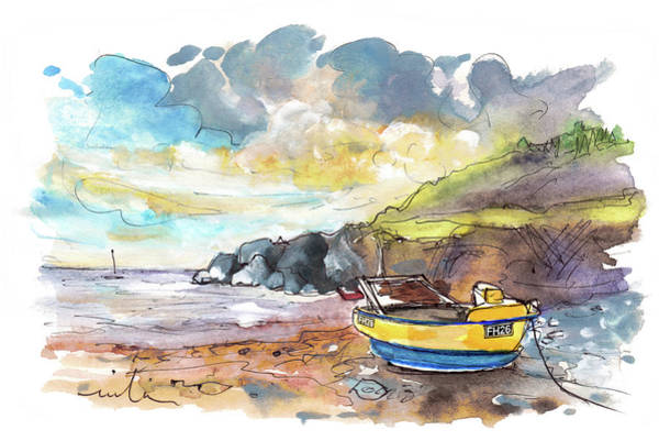 Painting - Cadgwith 02 by Miki De Goodaboom