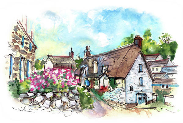 Painting - Cadgwith 04 by Miki De Goodaboom