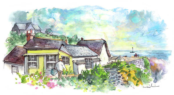 Painting - Cadgwith 05 by Miki De Goodaboom