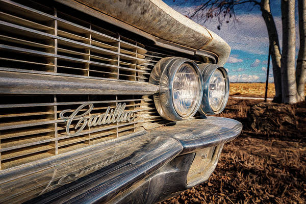 Classic Car Renderings Wall Art - Photograph - Cadillac Eyes by Christopher Thomas