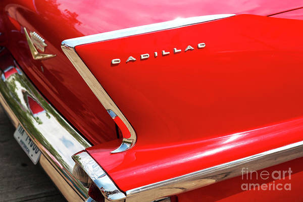 Photograph - Cadillac Fin At Coney Island by John Rizzuto