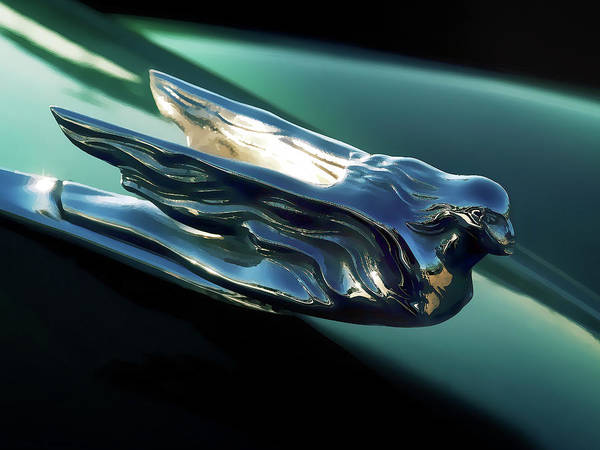 Wall Art - Digital Art - Cadillac Hood Ornament by Douglas Pittman